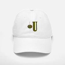 OLIVE U (I LOVE YOU) Baseball Baseball Cap