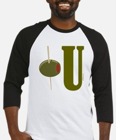 OLIVE U (I LOVE YOU) Baseball Jersey