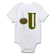 OLIVE U (I LOVE YOU) Infant Bodysuit