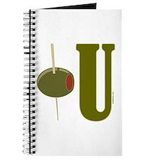 OLIVE U (I LOVE YOU) Journal