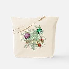 Twilight Christmas Bulbs Tote Bag