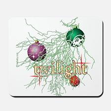 Twilight Christmas Bulbs Mousepad