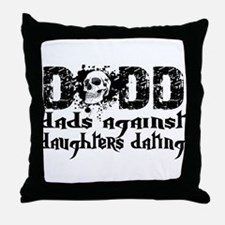 DADD Skull Throw Pillow