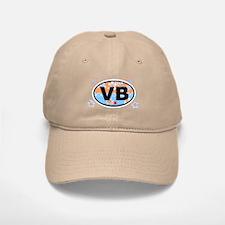 Virginia Beach VA Baseball Baseball Cap