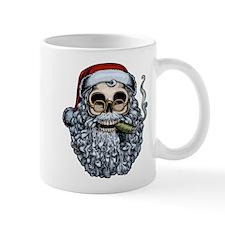 Smokin' Santa Skull Mug