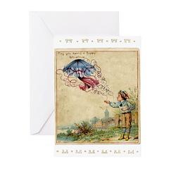 Boy Blue Greeting Cards (Pk of 20)