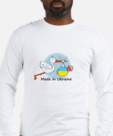 Stork Baby Ukraine Long Sleeve T-Shirt