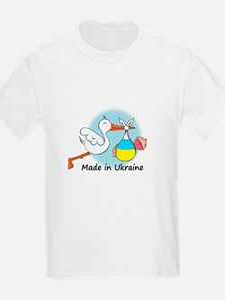 Stork Baby Ukraine T-Shirt