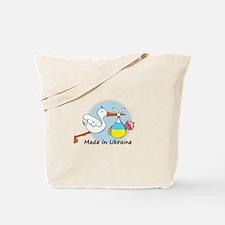 Stork Baby Ukraine Tote Bag