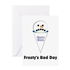 Sorry, Frosty! Greeting Card