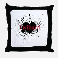 Twihard Throw Pillow
