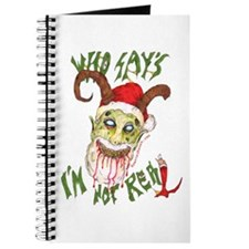 Who Says Xmas Shopping List/Journal