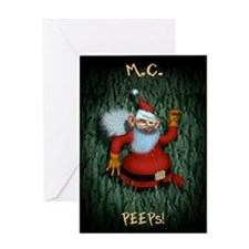 Snappy Claus Greeting Card
