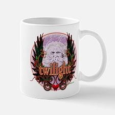 Twilight Santa Winged Crest Wreath Mug
