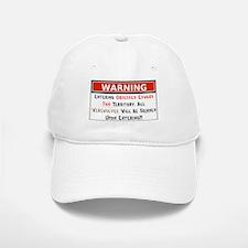 Warning Werewolves Skinned Baseball Baseball Cap