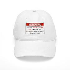Warning Werewolves Skinned Baseball Cap