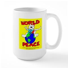World Peace Cat Mug