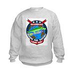 USS Clarion River (LSMR 409) Kids Sweatshirt