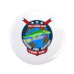 "USS Clarion River (LSMR 409) 3.5"" Button (100 pack"