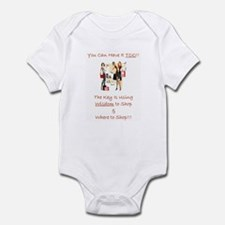 Cute Religion beliefs sister Infant Bodysuit