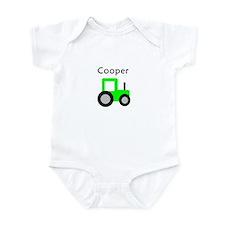Cooper - Lime Green Tractor Infant Bodysuit
