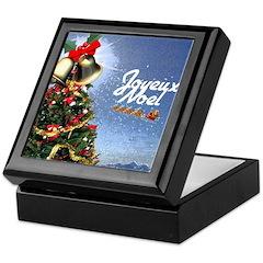 Joyeux Noel Keepsake Box