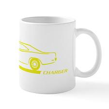 1968-70 Charger Yellow Car Mug