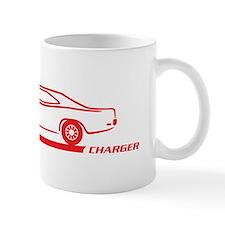 1968-70 Charger Red Car Mug