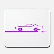 1968-70 Charger Purple Car Mousepad