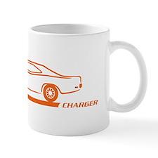 1968-70 Charger Orange Car Mug
