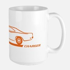 1968-70 Charger Orange Car Mug