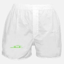 1968-70 Charger Lime Car Boxer Shorts