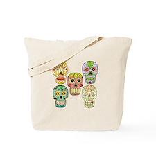 Mexican Skulls Tote Bag