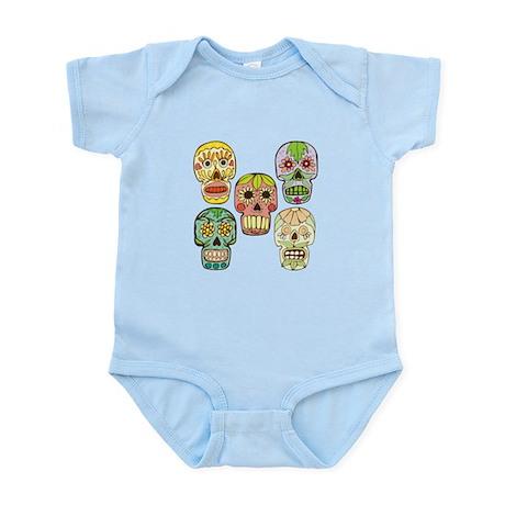 Calaveras (Skulls) Infant Bodysuit