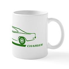 1968-70 Charger Green Car Mug