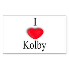 Kolby Rectangle Decal