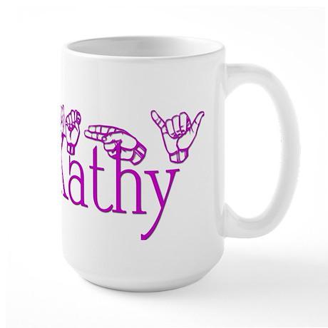 Kathy-pnk Large Mug