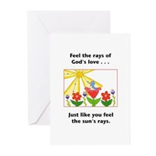 Love Sunshine Gifts Greeting Cards (Pk of 20)