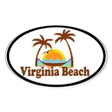 Virginia Beach VA Oval Decal