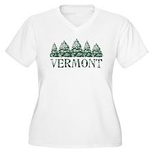 VT Winter Evergreens T-Shirt