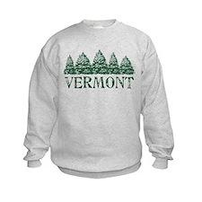 VT Winter Evergreens Sweatshirt