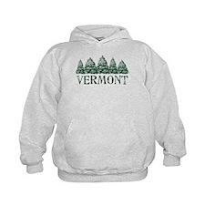 VT Winter Evergreens Hoodie