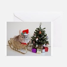 Unique Holiday chinchilla Greeting Cards (Pk of 20)