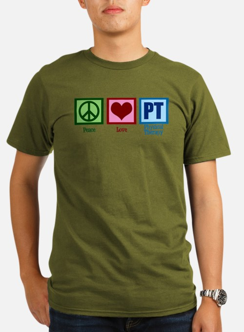 Peace Love P T-Shirt
