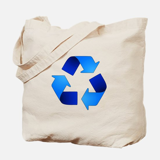 Recycling Symbol Tote Bag