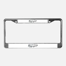 Sugarpants License Plate Frame