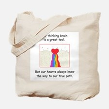 Rainbow Heart Gifts Tote Bag