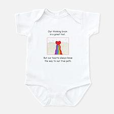 Rainbow Heart Gifts Infant Bodysuit