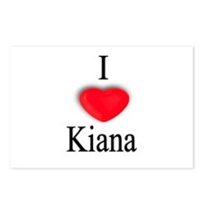 Kiana Postcards (Package of 8)