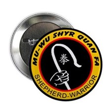 "Shepherd Warrior Logo 2.25"" Button"